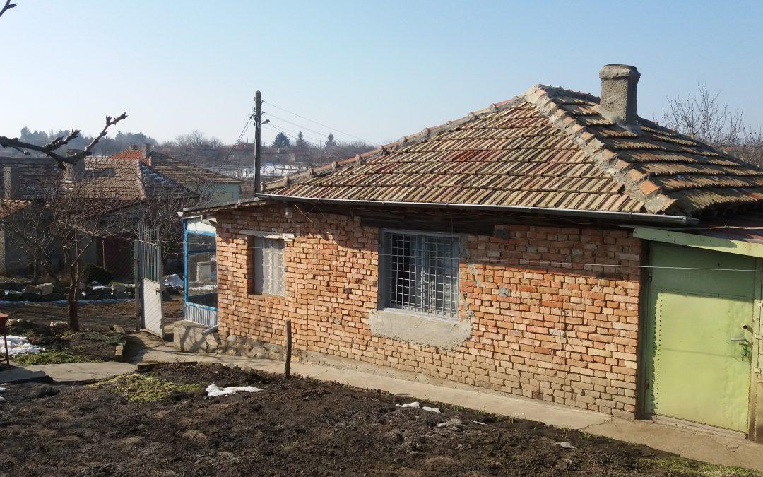 Къща в с.Подслон община Добричка.