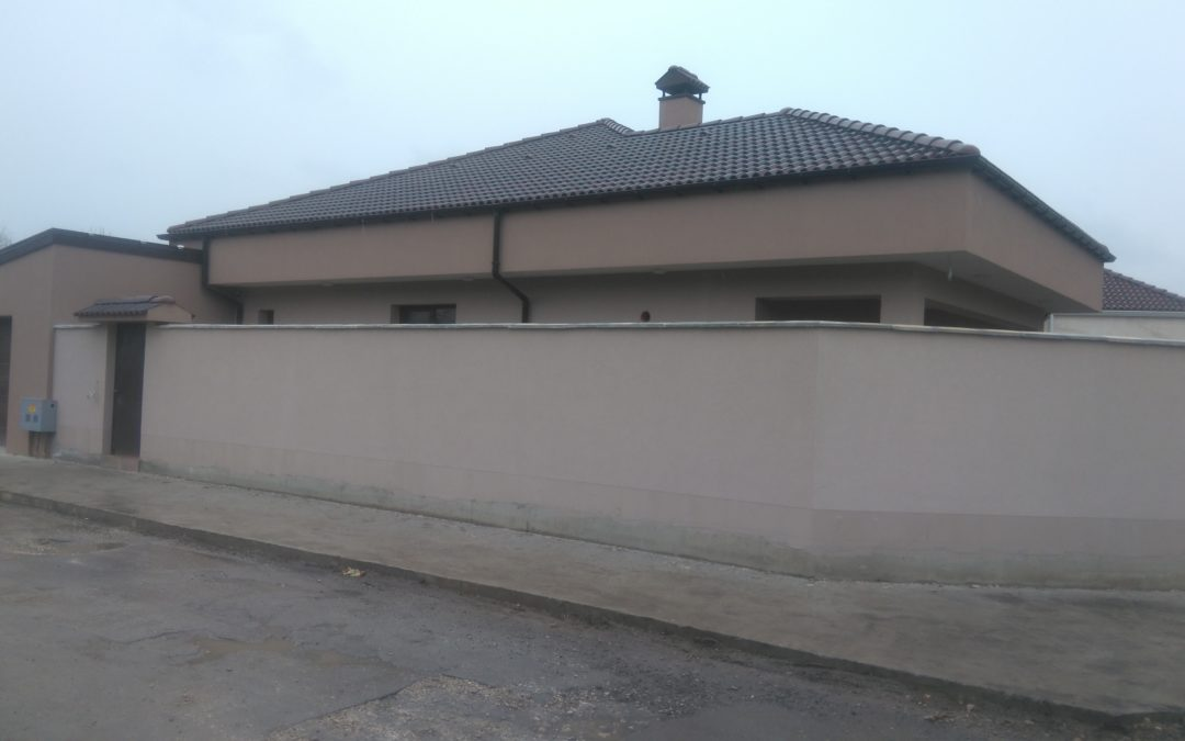 Къща ново строителство в гр.Добрич.