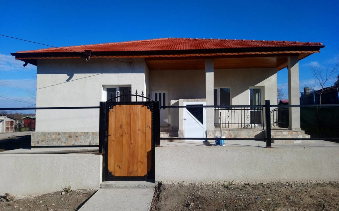 Къща ново строителство гр.Добрич кв.Рилци.